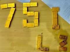77 Gold Biscuits Seized From Saudi-Returned Passengers After UP Road Chase
