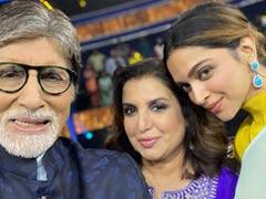 "COVID-19 Positive Farah Khan, Who Was On <I>KBC</i> Sets With Deepika Padukone And Amitabh Bachchan, Reveals ""Everyone Has Tested Negative"""