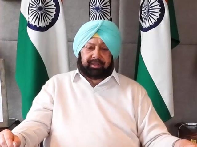 """Video : """"Will Pit Strong Candidate, Won't Let Navjot Sidhu Win"""": Amarinder Singh"""
