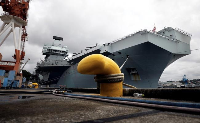 Britain's New HMS Queen Elizabeth In Japan On Indo-Pacific Mission
