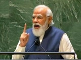 """Video : """"Afghanistan's Territory Should Not Be Used To Spread Terrorism"""": PM At UN"""