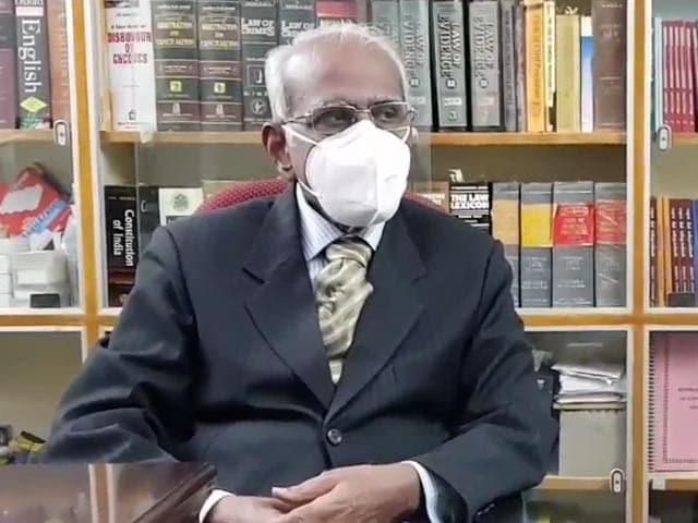 Video : NEET Denies Social Justice: Ex Judge AK Rajan In Report On Exam