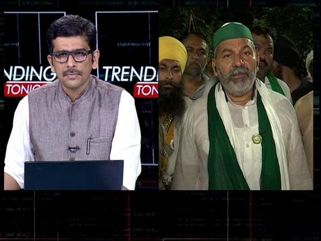 """Video : """"Will Continue Protest Till Action Taken Against SDM"""": Rakesh Tikait To NDTV"""