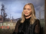 Video : Emily Blunt on Being Directed by Husband John Krasinski in <i>A Quiet Place 2</i>