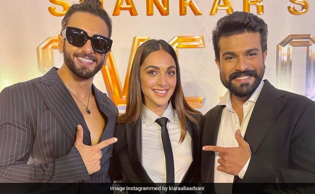Ram Charan And Kiara Advani's Film Launch Made Special By Chiranjeevi And Ranveer Singh