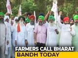 Video : Delhi-UP Traffic Affected As Farmers' Bharat Bandh Begins