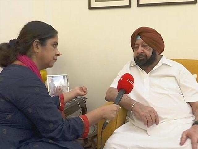 """Video : Amarinder Singh To NDTV: """"Trust Deficit, Can't Continue (In Congress)"""""""