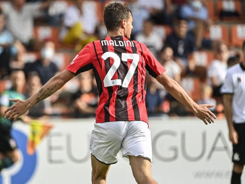 Daniel Maldini Scores Fairytale First Goal As AC Milan Go Top Of Serie A