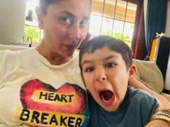 """Kareena Kapoor Reveals Son Taimur, 4, Is Already A """"Heart-Breaker"""""""