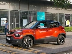 Upcoming Tata Punch Spotted In A New Dual-Tone Orange Shade