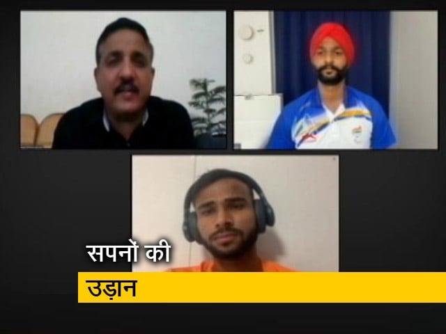 Videos : PhD के साथ मेडल हासिल करके दिखाया दम, पदक विजेता हरविंदर सिंह और प्रवीण से NDTV की खास बातचीत