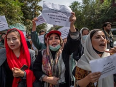 Afghan Women Protest After Taliban Replaces Women's Ministry