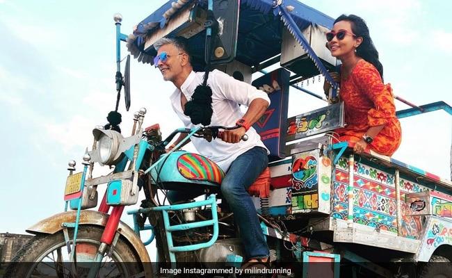 From Milind Soman And Ankita Konwar's Gujarat Diaries. Pics From Their 'Chhakda' Ride