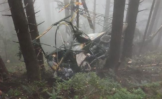 Army Helicopter Crash: 2 Army Pilots Killed As Helicopter Crash-Lands In J&K's  Udhampur