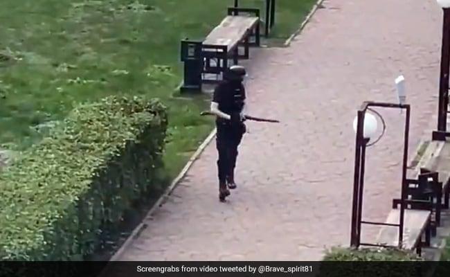 6 Killed In Russia Shooting; Videos Of Gunman Walking, Panic In Campus