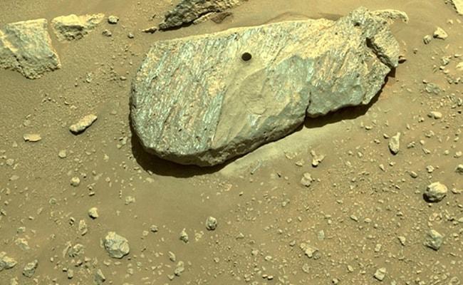 NASA Believes Mars Rover Succeeded In Taking Rock Sample
