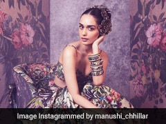 Manushi Chhillar In A Floral Rocky Star Dress Is Gorgeous Enough To Give Us Major Floral Fever