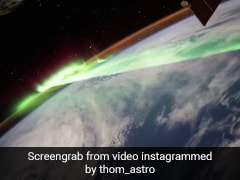 Watch: The Stunning Southern Lights, As Seen From Space