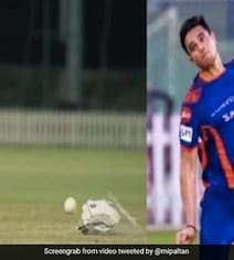 Video: IPL पार्ट-2 के लिए अर्जुन तेंदुलकर ने की जबरदस्त तैयारी, 'रॉकेट यॉर्कर' की कर रहे प्रैक्टिस