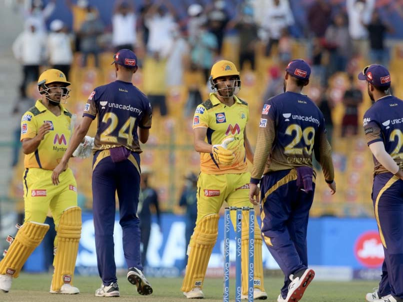 IPL 2021, KKR vs CSK: Chennai Super Kings Edge Out Kolkata Knight Riders By 2 Wickets In Thriller