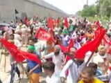 Video : Sukhbir Singh Badal's 100-Day Poll Campaign Disrupted By Protesting Farmers