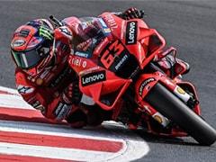 Francesco Bagnaia Takes San Marino MotoGP Pole With Record Lap