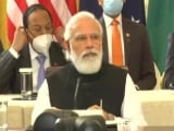 """Video : """"Quad Will Work As Force For Global Good"""": PM At First In-Person Summit"""