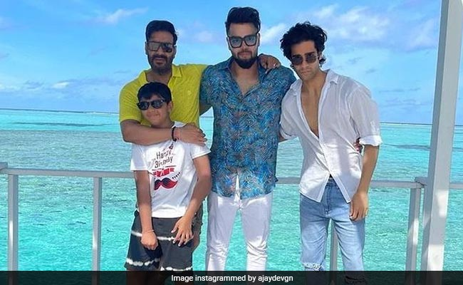 Ajay Devgn Is Celebrating Son Yug's Birthday With An 'All Boys Party'
