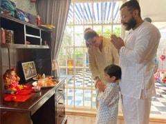 A Very Happy Ganesh Chaturthi From Kareena Kapoor, Saif Ali Khan And Taimur