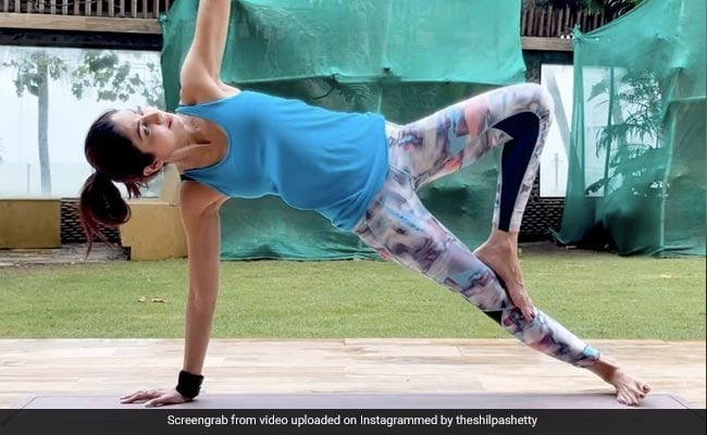 Want To Strengthen Your Core? Take Cues From Shilpa Shetty's Recent Yoga Post