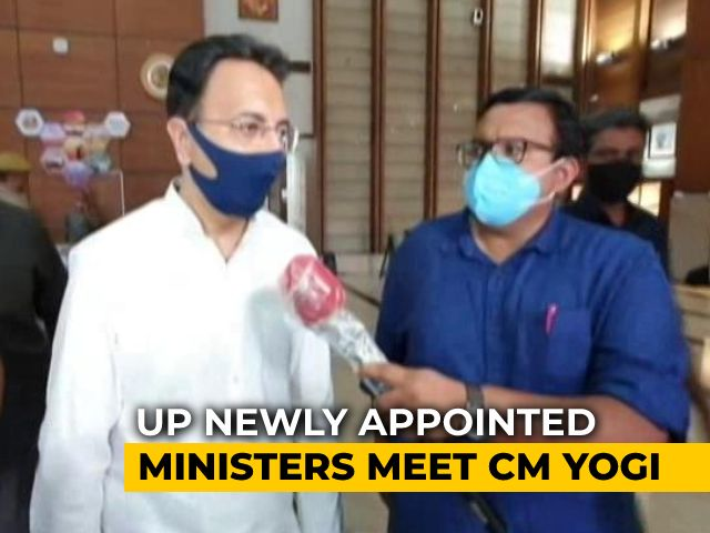 Video : Day After Oath As UP Ministers, Jitin Prasada, Six Others Get Portfolios