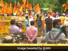 Delhi Police Puts Out Traffic Diversions In View Of Akali Dal's Protest On Farm Laws