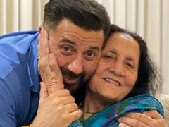 How Sunny And Bobby Deol Wished Mom Prakash Kaur On Birthday