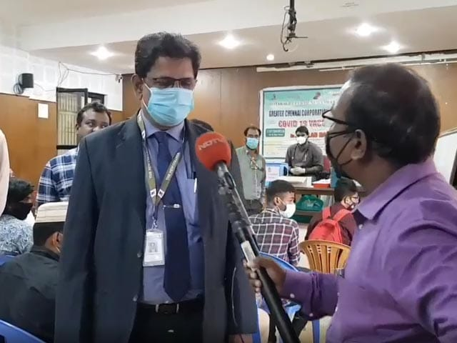 Video : Tamil Nadu Colleges Turn Into Vaccination Camps