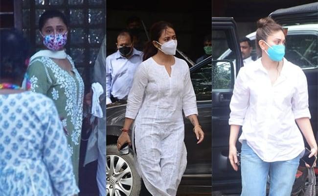 Sidharth Shukla's Bigg Boss Co-Contestants Rashami Desai, Devoleena Bhattacharjee, Shefali Jariwala Visit His Family; Asim Riaz Pictured At Hospital
