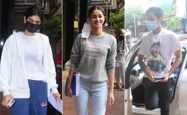 What's Cooking, Zoya Akhtar? Ananya Panday, Khushi Kapoor And Agastya Nanda Spotted At The Filmmaker's House