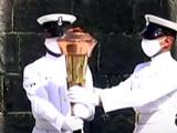 Video : Indo-Pak War Victory Torch Reaches Naval Dockyard In Mumbai