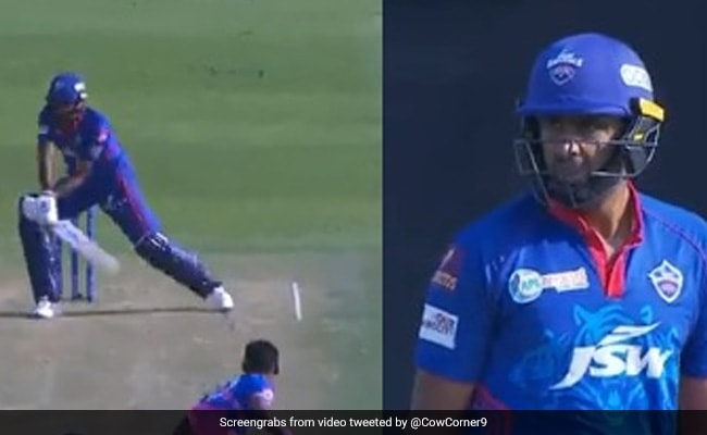 IPL 2021 DC vs RR Ashwin hits reverse sweep for the first time, will be blown away after seeing what happened Watch Video