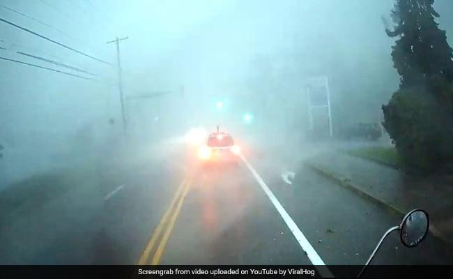 Watch: Powerful Tornado Flips Truck In Terrifying Video