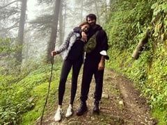 A Walk In The Woods With Shahid Kapoor And Mira Rajput, Currently On City Life Detox