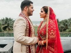 Trending: Dreamy Pic From Actress Vidyullekha Raman's Wedding