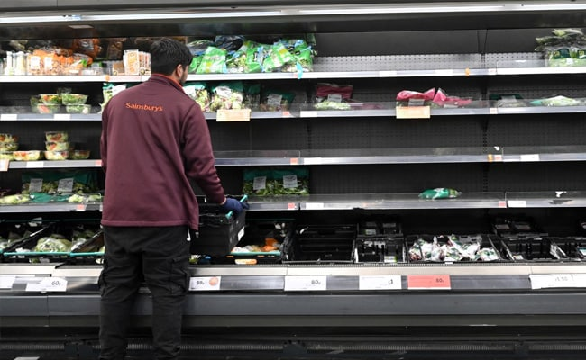No Milk Or Water: Shortage Of Basics At London Grocery Stores