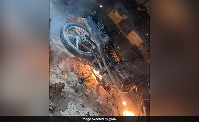 Rider Injured After Bike Fuel Tank Explodes In Punjab, Cops Say Probe On