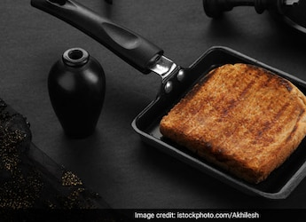 Watch: How To Flip Cheese Sandwich On Frying Pan - This Kitchen Hack Is A Must Try