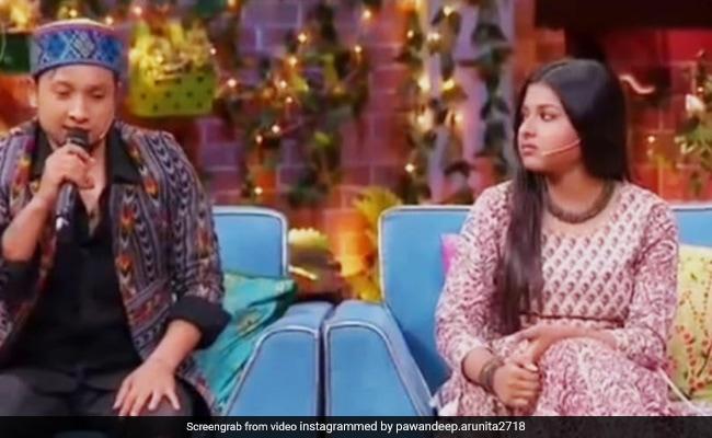 पवनदीप राजन ने अरुणिता कांजीलाल के लिए गाया 'चांद छुपा बादल में' गाना, कपिल शर्मा ने सिंगर की जमकर की तारीफ