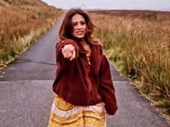 सरगुन मेहता ने पहाड़ों के बीचों-बीच 'किस्मत 2' के गाने पर किया क्यूट डांस, वायरल हुआ Video