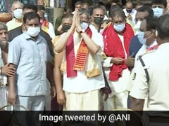 Chief Justice Of India NV Ramana Offers Prayers At Jagannath Temple