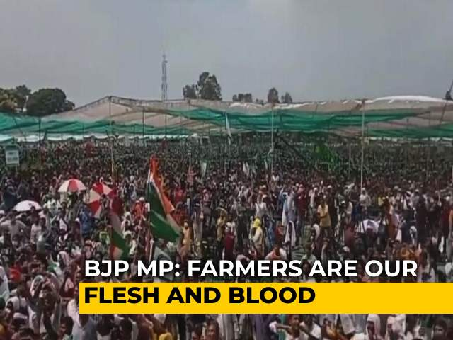 """Video : """"They're Our Flesh And Blood"""": BJP MP Varun Gandhi On Farmers' Protest"""