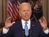 """Video : """"We Are Not Done With You,"""" Joe Biden Warns Afghanistan's ISIS-K Terrorists"""