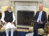 Video : Seeds Sown For Stronger India-US Friendship, PM Tells Biden